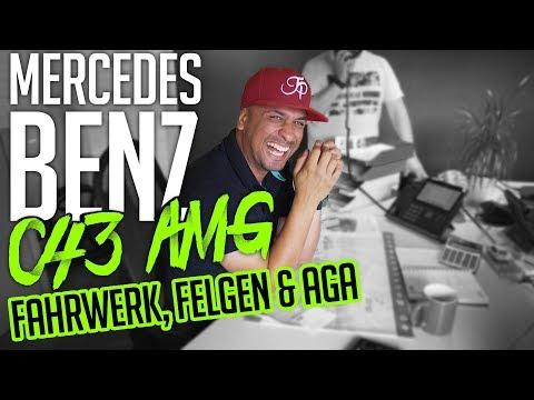 JP Performance - Mercedes-Benz C43 AMG   Fahrwerk, Felgen & Abgasanlage
