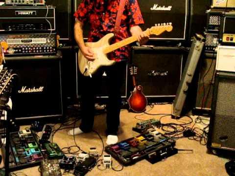 1996 Fender Lone Star Stratocaster Inca Gold demo