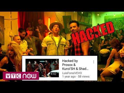 Tin tặc hack MV Despacito trên YouTube sa lưới | VTC1 - Thời lượng: 54 giây.