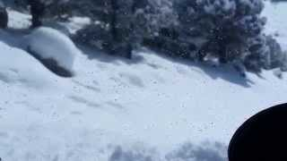 5. Polaris Ranger 570 Crew in 2 foot mountain snow