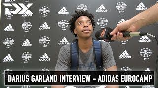 Darius Garland Interview - Adidas Eurocamp