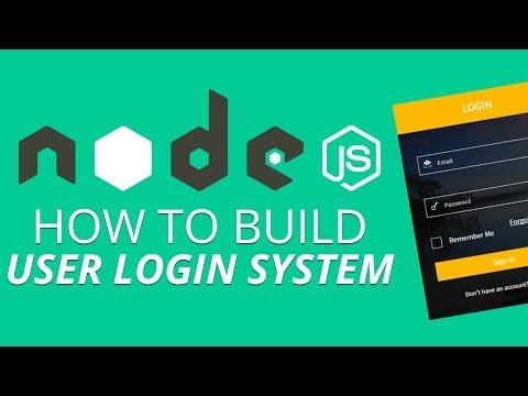 How to Build User Login System Using Nodejs | Nodejs \u0026 its Installation