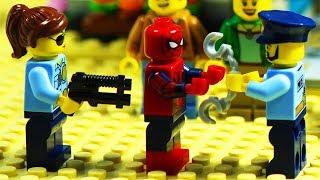 Video Lego Spiderman Prison Break - Home Robbery Part 1 - 2 MP3, 3GP, MP4, WEBM, AVI, FLV Juli 2018