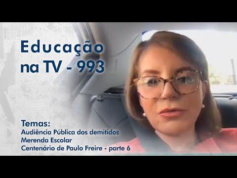 Audiência Pública dos demitidos | Merenda Escolar | Paulo Freire