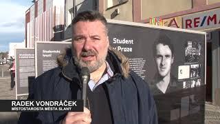Výstava Jan Palach - Slaný 2019