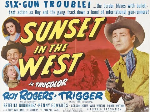 Sunset In The West - Roy Rogers (1950)