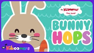 Download Lagu The Way The Bunny Hops | Easter Bunny Song | Easter Songs for Kids | The Kiboomers Mp3