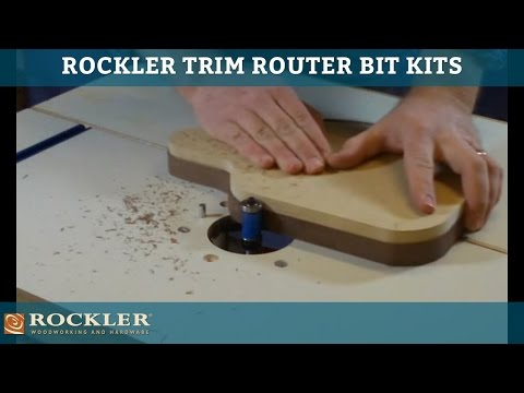 Trim Router Bit Kits