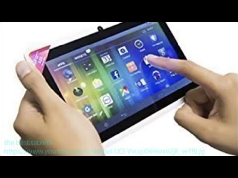 iAZUZ Review 7 inch Tablet Quad Core Android 4.4 KitKat