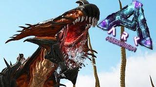 ARK Aberration Gameplay German #25 - Diese Höhle lutscht hart !!!