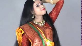 Traditional Indian Rapunzel in Festival Look,Very Beautiful Hair