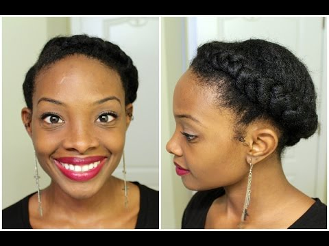 Hair - So I tried my hand at a new style, let me know what you think! This is a great style that can be done on an old twist/braid out or blown out hair. L I P S T I C K  MAC Rebel - http://amzn.to/1mbb...