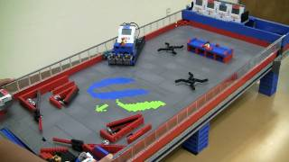 Lego NXT Pinball Machine - Gameplay test #2