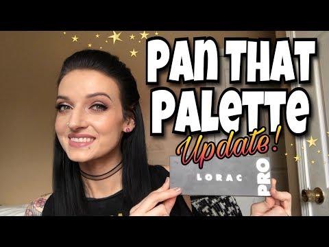 Pan That Palette 2018 - Update #1 (Lorac Pro 2)