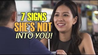 Video 7 Signs She's Not Into You MP3, 3GP, MP4, WEBM, AVI, FLV September 2018