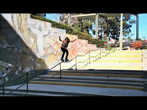 rail - Maurice Jordan definitely had us trippin when we first saw this insane kinked rail Fifty Fifty clip posted under the #metrogrammed hashtag. With a handrail of this magnitude we had to get...