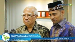Ketua DPRA Jajaki Kerjasama Dengan Tokoh Keturunan Aceh di Luar Negeri