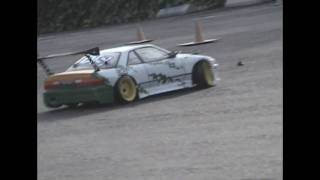 Team D-Style RC Counter-Steer Drifting  Ae86 And S13 With TDS Tires CS Drift Mod