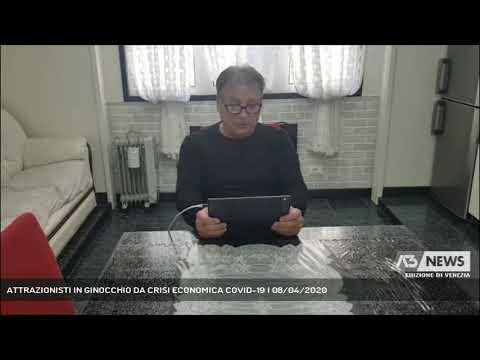 ATTRAZIONISTI IN GINOCCHIO DA CRISI ECONOMICA COVID-19 | 08/04/2020
