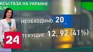 Украина готовится к новому раунду газового шантажа