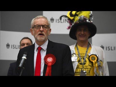 Großbritannien: Corbyn stellt nach Wahldebakel Rückzug in Aussicht