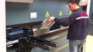 DURMA AD SERVO 30100 SAMPLE BENDINGS VIDEO