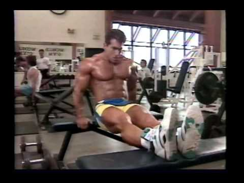 Joe Weider's Bodybuilding Training System Tape 4 – Chest & Triceps