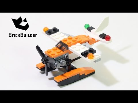 Lego Creator 31028 Sea Plane – Lego Speed Build