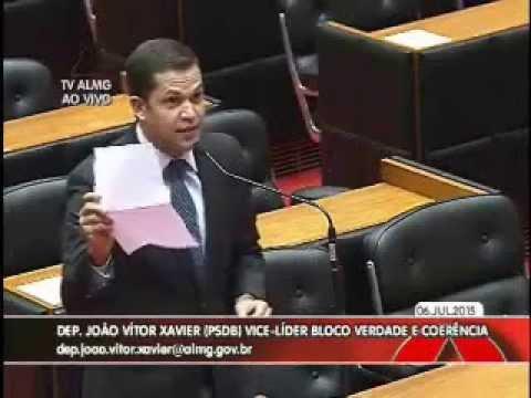 João Vítor Xavier critica cortes do Governo na Saúde de MG