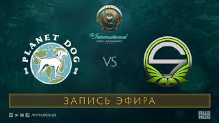 PDog vs Team Singularity, The International 2017 Qualifiers [Lex, 4ce]