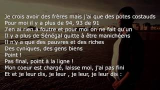 Disiz - Mon Amour [PAROLES/LYRICS]