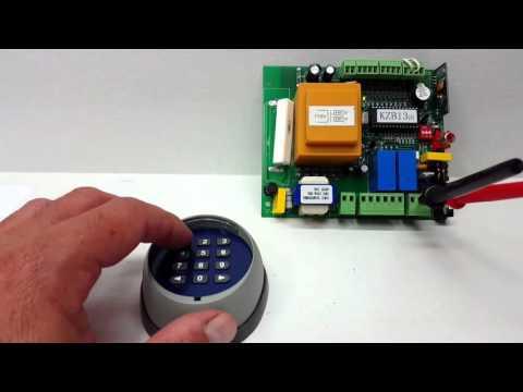 Programming the ALEKO LM171 Wireless Keypad