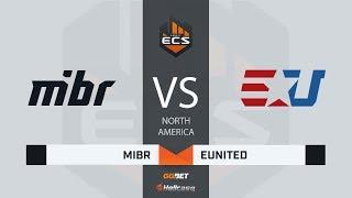 [RU] MIBR vs eUnited   Map 1 – Mirage   ECS Season 7 North America