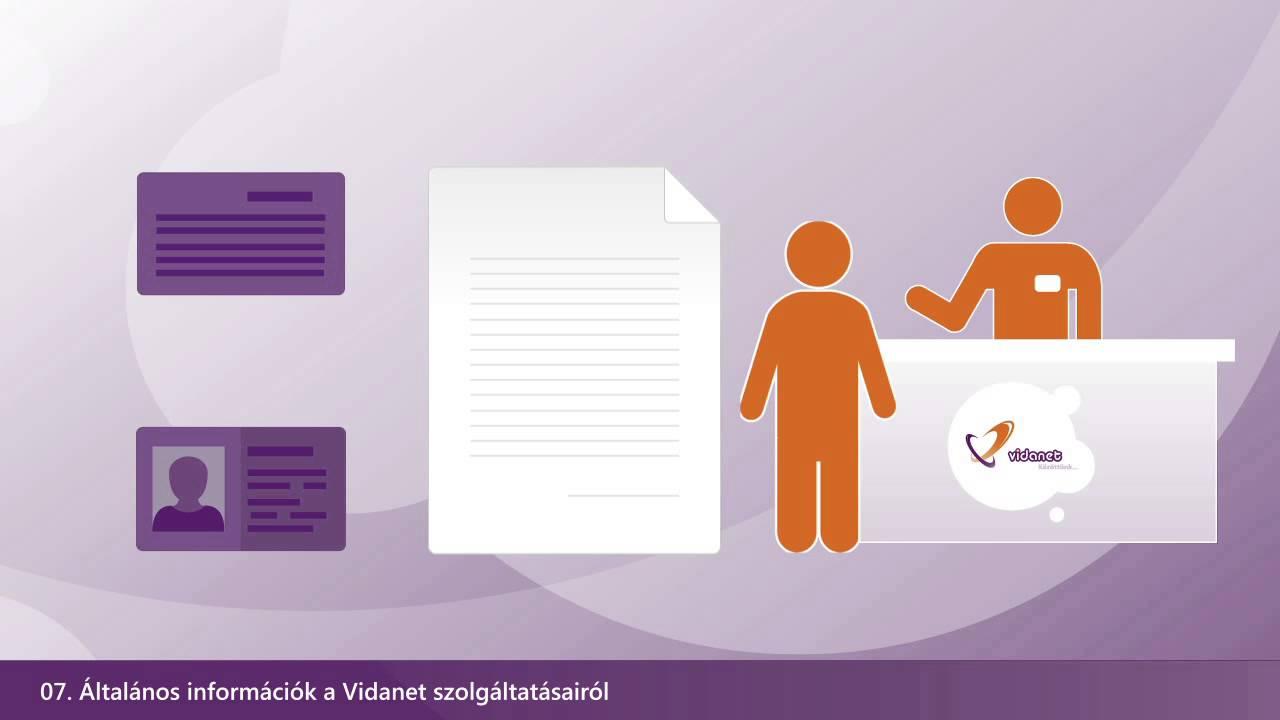 Általános információk a Vidanet szolgáltatásairól