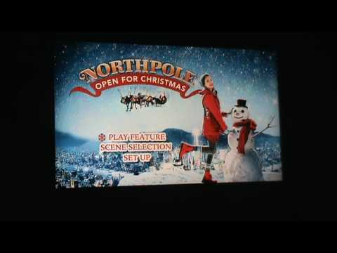 Opening to Northpole: Open for Christmas UK DVD (2016)