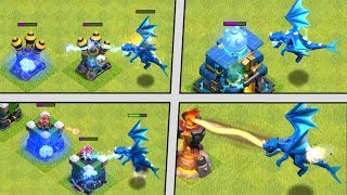 Video ELECTRO DRAGON vs ALL DEFENSES! New Troop in Clash of Clans! CoC Electro Dragon Attacks - Update! MP3, 3GP, MP4, WEBM, AVI, FLV September 2018