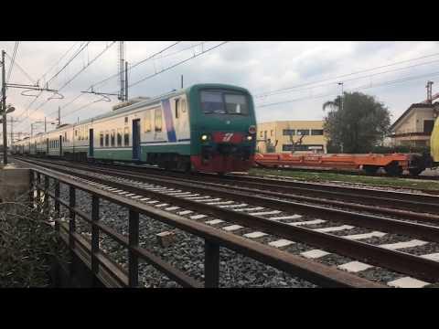 Treni a Giovinazzo/Molfetta (BA) Pt.2 [E402B-145 SUN, ETR485 pendolino, E414 FB, E652, E444R]