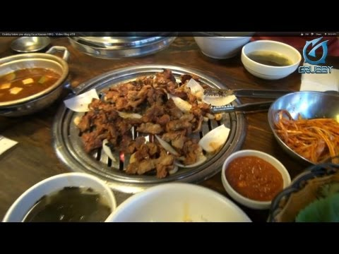 Grubby takes you along for Korean BBQ - Video Blog #18