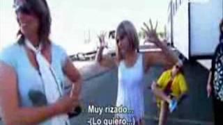 Broma a Zac Efron en el set de HSM 3 (Español)