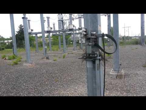 115,000伏特變電所下奇蹟的一幕
