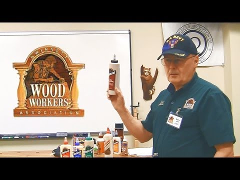 2014-02-22 Woodworking Glues and Glue-Ups by Gerry Jones (Classroom Recording)