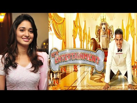 Interview With Tamannah Bhatia For Movie Entertainment