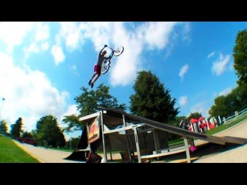 BMX Stunt Show Yorkville IL 2013
