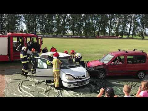 Wideo1: Pokaz ratownictwa w Pudliszkach