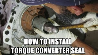 2011 Infiniti G37xTorque Converter SealFor my Nissan/Infiniti owners! Thanks for watching don't forget to subscribe!SUBSCRIBE HERE https://www.youtube.com/my_videos?o=U*Please be aware that I am not responsible for you actions in any type of way. If you get injured during the job or damage other parts including the engine I'M NOT RESPONSIBLE! Always work with safety and please do your research