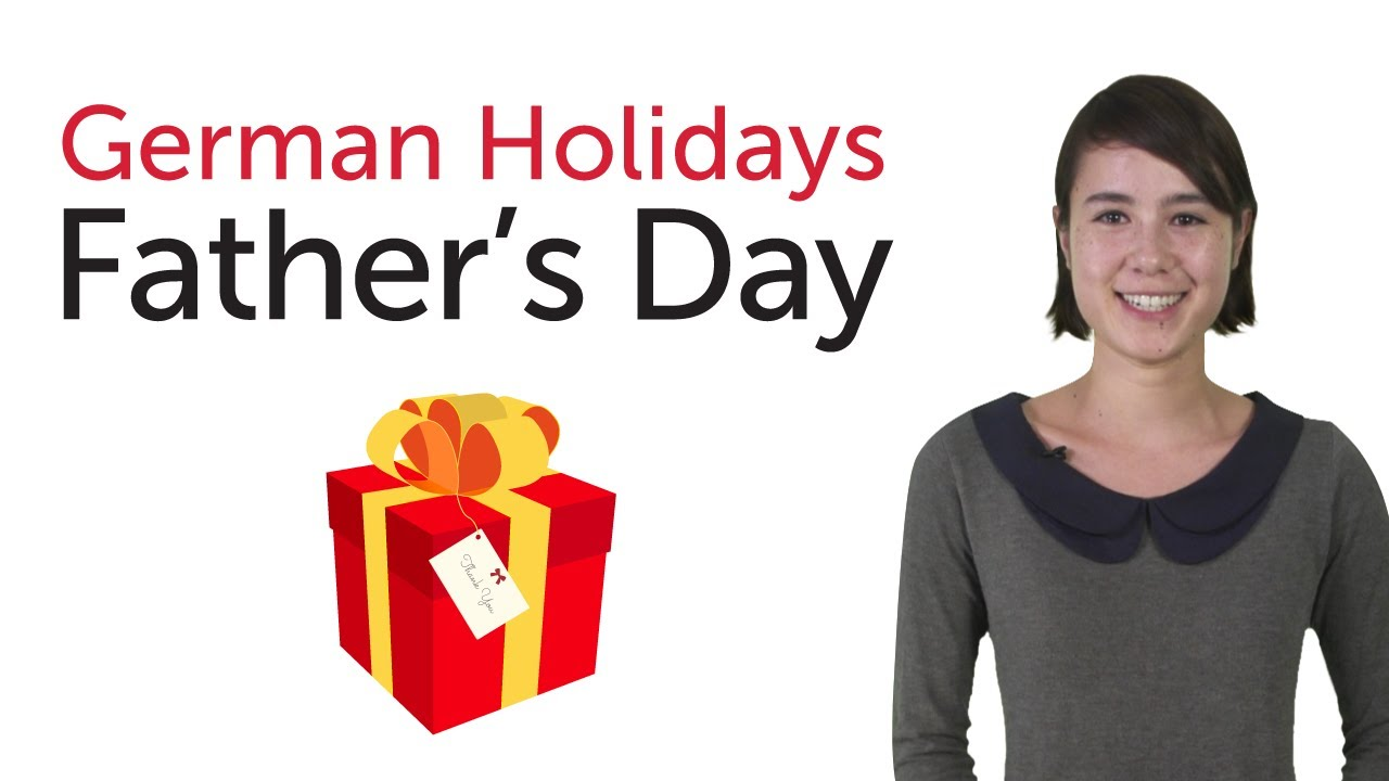 Learn German Holidays – Father's Day