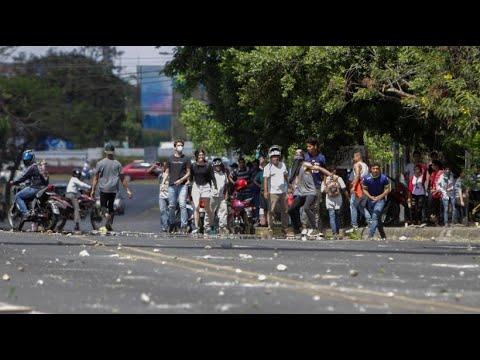 Proteste in Nicaragua: Demonstration endet mit Gewalt