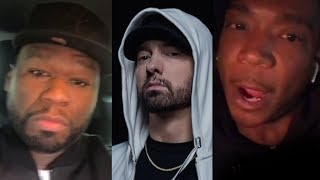 "Video Ja Rule Responds To Eminem Dissing Him On 'Killshot'.. ""You're A Clout Chaser"" + 50 Cent Reacts MP3, 3GP, MP4, WEBM, AVI, FLV Oktober 2018"
