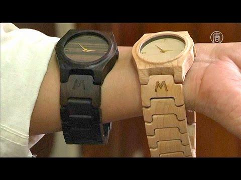 Часы из дерева своими руками наручные часы 9