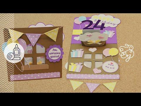 Tarjetas de cumpleaños - La tarjeta de cumpleaños perfecta  Craftingeek